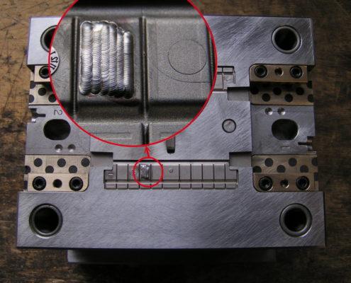 Material auftragen mit Laser