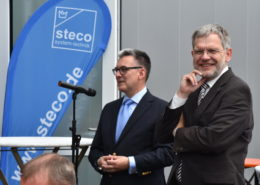 Einweihung Steco Lemgo mit Bürgermeister