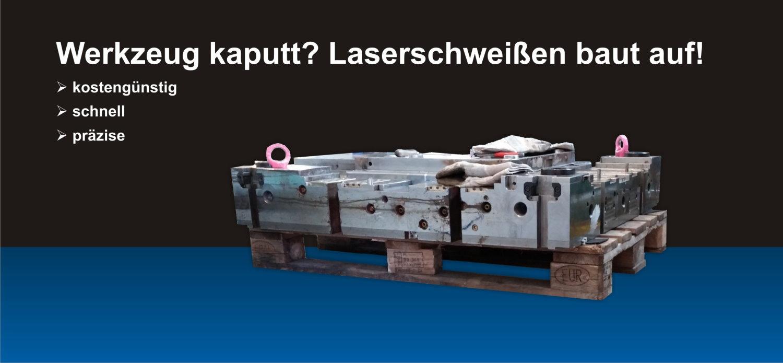 Reparaturschweißen mit Laser